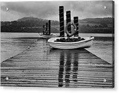 Loch Lomond Acrylic Print by Eunice Gibb