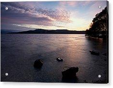 Loch Lomond Sunrise Acrylic Print