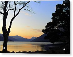 Loch Lomond Sunset Acrylic Print by The Creative Minds Art and Photography
