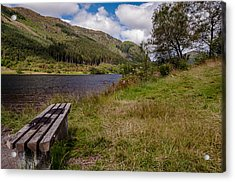 Acrylic Print featuring the photograph Loch Lubnaig by Sergey Simanovsky