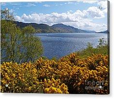 Loch Ness - Springtime Acrylic Print