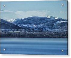 Loch Ness Winter Blues Acrylic Print