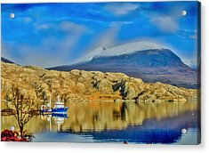 Loch Shieldaig In Assynt In The Scottish Highlands Acrylic Print by Tylie Duff