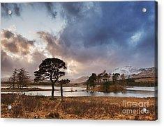 Loch Tulla Acrylic Print by Rod McLean