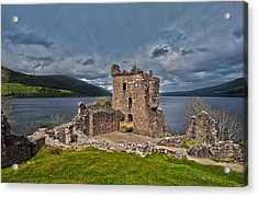 Lochness Acrylic Print by Terry Cosgrave