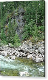 Lochsa River Acrylic Print