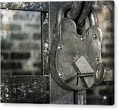 Lock And Key Acrylic Print