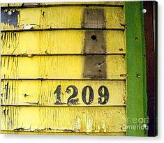 Lock Stock And Mailbox Acrylic Print by Joe Jake Pratt