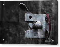 Lock Acrylic Print by Svetlana Sewell