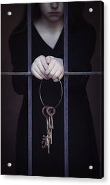 Locked-in Acrylic Print by Joana Kruse