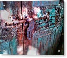 Locked Acrylic Print