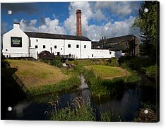 Lockes Irish Whiskey Distillery Acrylic Print by Panoramic Images