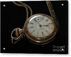 Locket Watch Acrylic Print