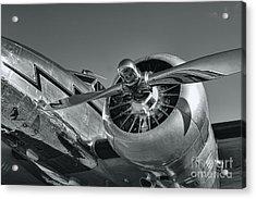 Lockheed 12a Electra Junior  Acrylic Print by Olga Hamilton