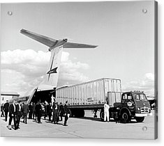 Lockheed C-141 Starlifter Acrylic Print by Underwood Archives