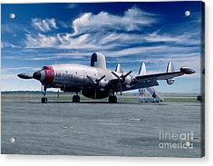 Lockheed Ec-121 Warning Star Early Warning Aircraft Acrylic Print