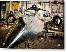 Lockheed M-21 Blackbird Acrylic Print by David Patterson