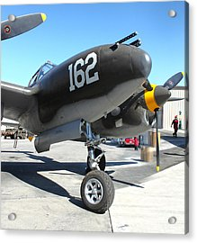 Lockheed P-38 - 162 Skidoo - 01 Acrylic Print by Gregory Dyer