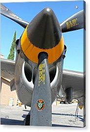 Lockheed P-38 - 162 Skidoo - 02 Acrylic Print by Gregory Dyer