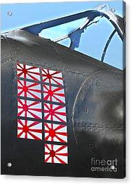 Lockheed P-38 - 162 Skidoo - 04 Acrylic Print by Gregory Dyer