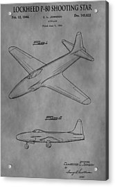 Lockheed Patent Acrylic Print