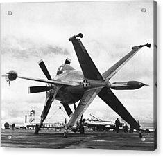 Lockheed's Vtol Aircraft Acrylic Print