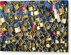 Acrylic Print featuring the photograph Locks Of Love by Hugh Smith