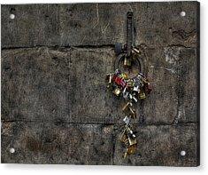 Locks Of Love Acrylic Print