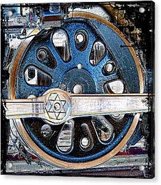 Loco Wheel Acrylic Print