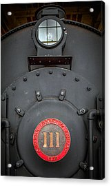 Locomotive 111 Acrylic Print by Marion Johnson