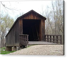 Locust Creek Covered Bridge Acrylic Print