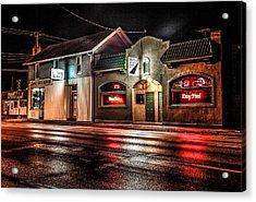Locust St. Tap Acrylic Print by Ray Congrove