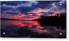 Acrylic Print featuring the photograph Locust Sunset by Raymond Salani III