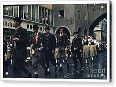 Loden Frey Parade Acrylic Print by Theo Bethel