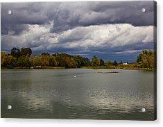 Lodi Lake Acrylic Print by Randy Bayne