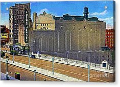 Loew's Jersey Theatre In Jersey City N J Around 1930 Acrylic Print