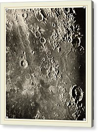 Loewy Et Puiseux French, 1833-1907, Photographie Lunaire Acrylic Print by Litz Collection