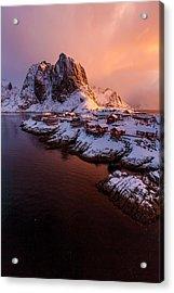 Lofoten Landscape Acrylic Print
