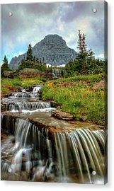 Logan Cascades Acrylic Print