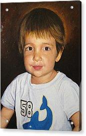 Acrylic Print featuring the painting Logan by Glenn Beasley