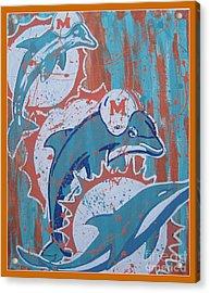 Logo Evolution Acrylic Print by Gary Niles