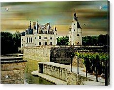 Loire Valley Chateau Acrylic Print
