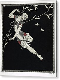 L'oiseau De Feu Acrylic Print by Georges Barbier