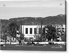 Loma Linda University Prince Hall Acrylic Print by University Icons