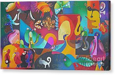 Lomani's World Acrylic Print