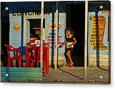 Acrylic Print featuring the photograph Loncheria by Skip Hunt