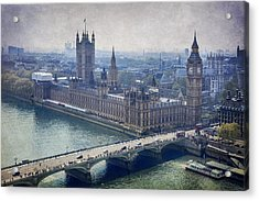 London Acrylic Print by Alfio Finocchiaro
