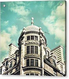 London Architecture Acrylic Print by Tom Gowanlock