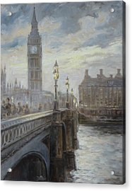 London Big Ben Acrylic Print