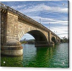 London Bridge Acrylic Print by Gregory Dyer